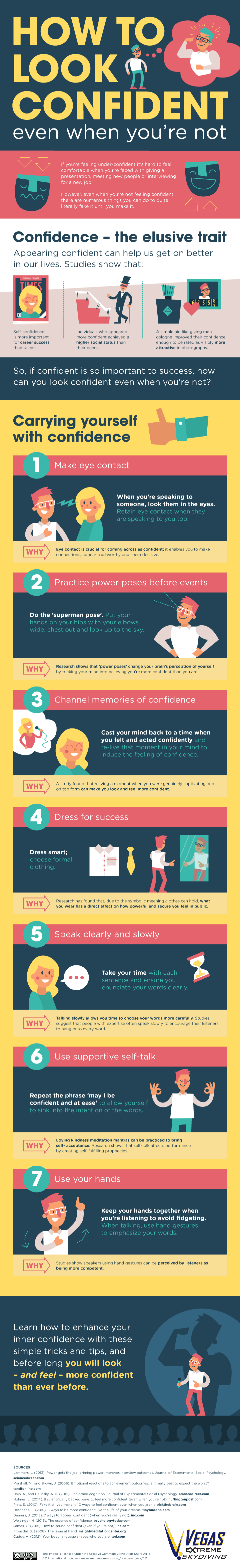tips to be confident