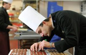 Career as a chocolatier