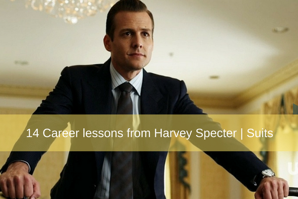 14 career lessons you can take from harvey specter