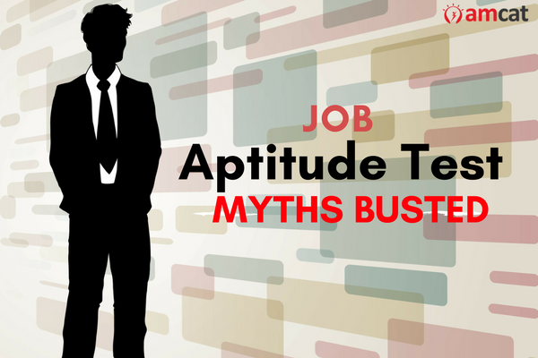 Myths commonly believed around job oriented tests. (Design image courtesy Canva)