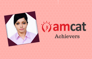 Gargee Chakraborty, a successful candidate placed via the AMCAT.
