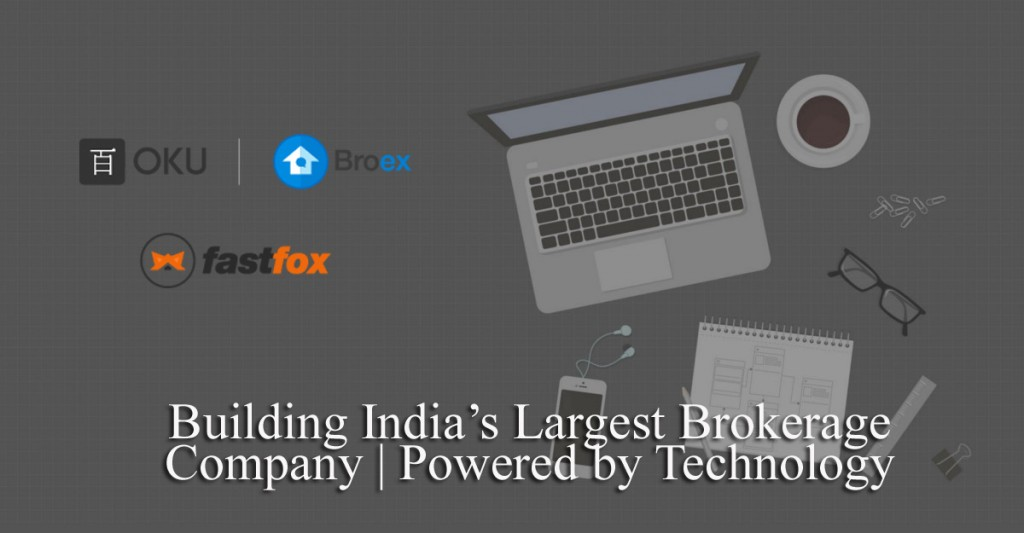 A real estate brokerage platform, OkuTech aims to leverage over 1 lakh brokers.