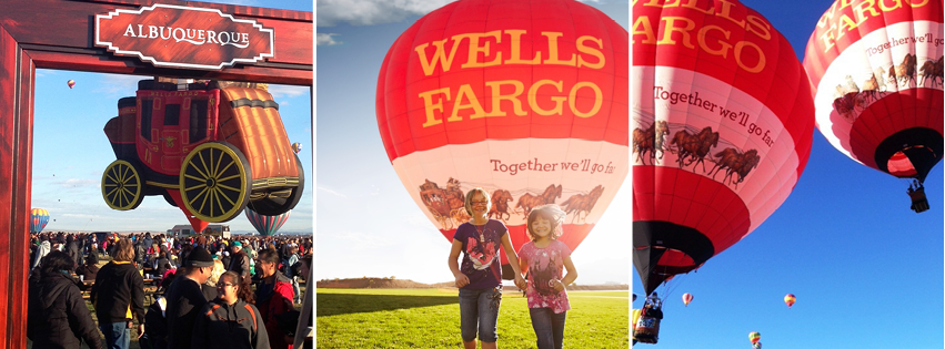 Together we will go far - that's the message Finance company Wells Fargo gives to both employees and clients. (Image courtesy: Facebook)