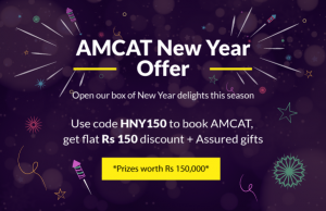 Set your sights on a grand career with the AMCAT New Year Offer.