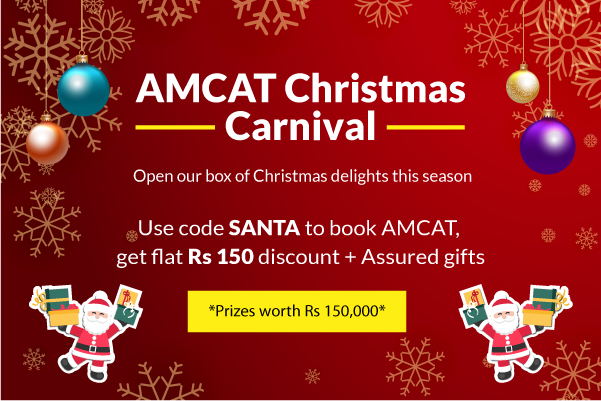The AMCAT Christmas Carnival awaits you.