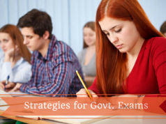 Strategies for Govt. Exams