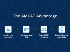 The AMCAT advantage for a candidate.