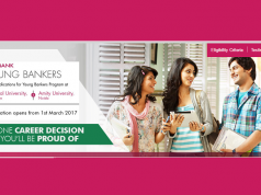 The Axis Bank Young Bankers Program invites all hoping for banking jobs.