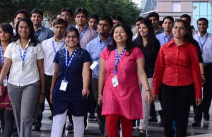 Join the working elite of corporate India, with hiring drives. (Courtesy: GE)