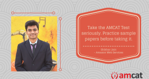 AMCAT success story of the day: How Shikhar Jain made it to a fresher job in Amazon Web Services.