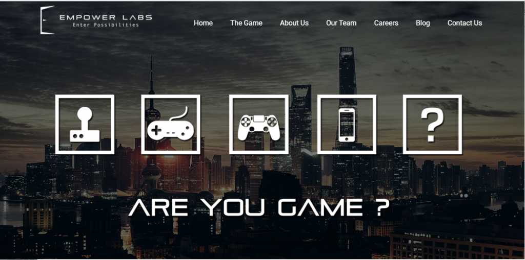 Get ready for a gamified lifestyle with Hyderabad-based Empower Labs. (Image: Official Website)
