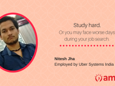 Nitesh Jha, one of our AMCAT achievers, shares important advice with all jobs aspirants.