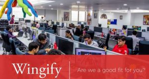 Want a good place to grow while looking for suitable IT jobs in New Delhi. Try Wingify. (Slideshare)