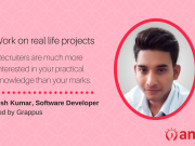 This is how Anish Kumar found his software developer roots with a Grappus job.