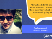 Raghav Agarwal is a success story. He landed his dream job through the AMCAT Test.