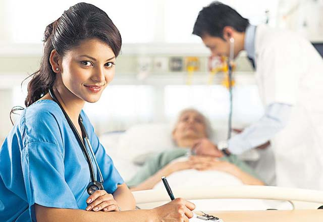 All you need to know about finding fresher jobs in healthcare in India. (Image: News East West)