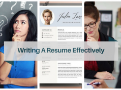 The differences between ways of getting help in writing a resume effectively.