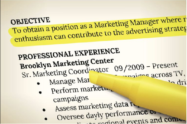 Say what you want clearly in your resume objective.