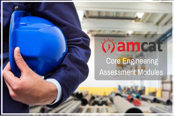 Core engineering assessment modules to prepare for during the AMCAT Test.