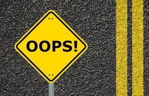 Are you guilty of these oops moments?