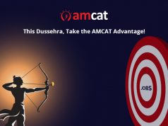 This Dussehra, capitalise on the AMCAT advantage with the AMCAT Dussehra offer.