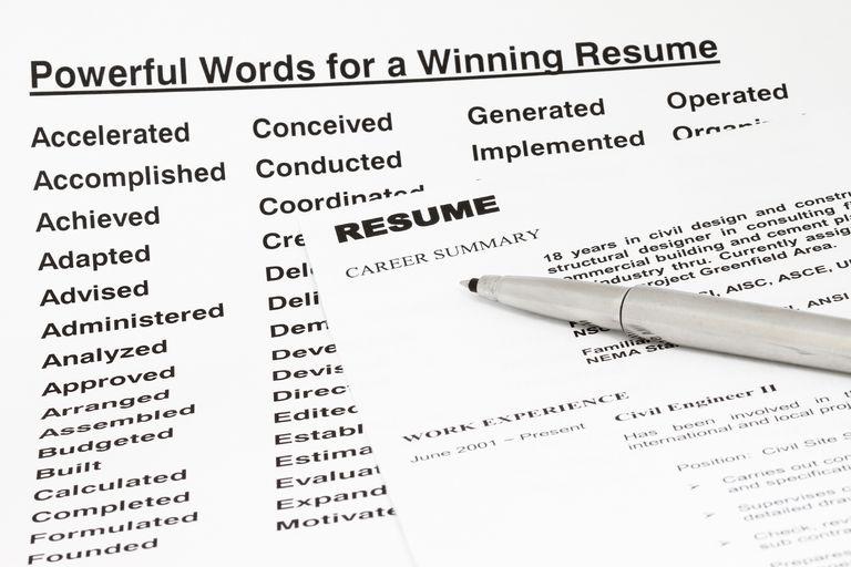 keywords for resumes skills