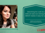 How Madhura used the AMCAT to improve her job search chances.