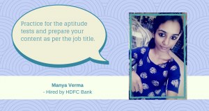 We recount Sreevidya's AMCAT Test experience in this student testimonial.