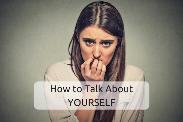 Talking about yourself in a job interview isn't that easy to do.