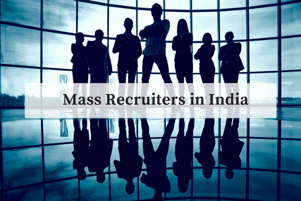 All you need to know about mass recruiters in India during campus placements. (Image: Freepik)