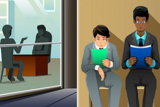 Right body language to answer the job interview questions.