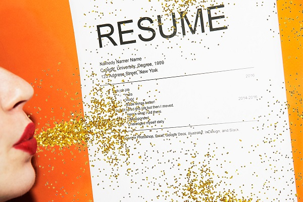 Balance the right resume tips with creativity.
