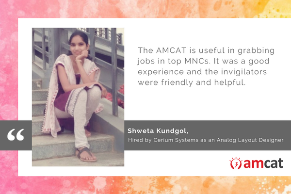 Shweta explains how she got her job with Cerium Systems.
