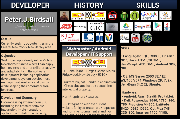 Ensure that you give prominence to your skills on your software developer resume. (Image: NetherNoir)