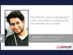 Abhilash Pal talks about his AMCAT test experience.