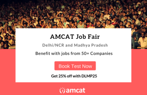 Take part in the AMCAT Online Job Fair (DLMP)