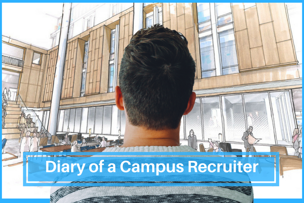 Here is what the campus recruiter does during campus hiring drives. (Artwork courtesy University of Kentucky)