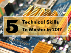 Technical skills you should master in 2017.
