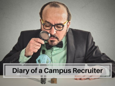 Things that a Campus Recruiter notices during a campus placement interview.