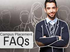 Common FAQs that arise around campus placements.