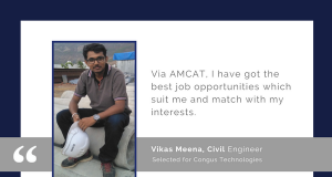 Vikas Meena details his AMCAT success story.