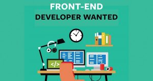 Be a Frontend Developer with jobs in Bangalore.