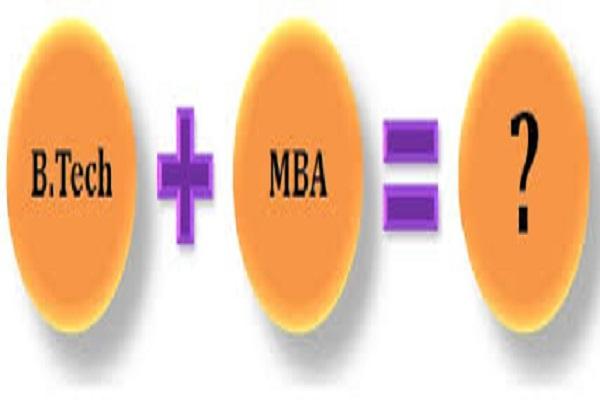 B.Tech+MBA=?