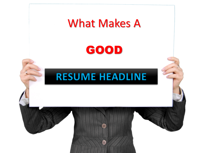 Fresher resume headline examples