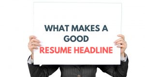 resume headline for fresher