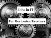 mechanical engineering freshers