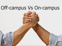 off-campus Vs on-campus