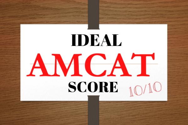ideal amcat score