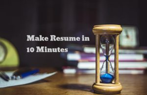 resume hacks