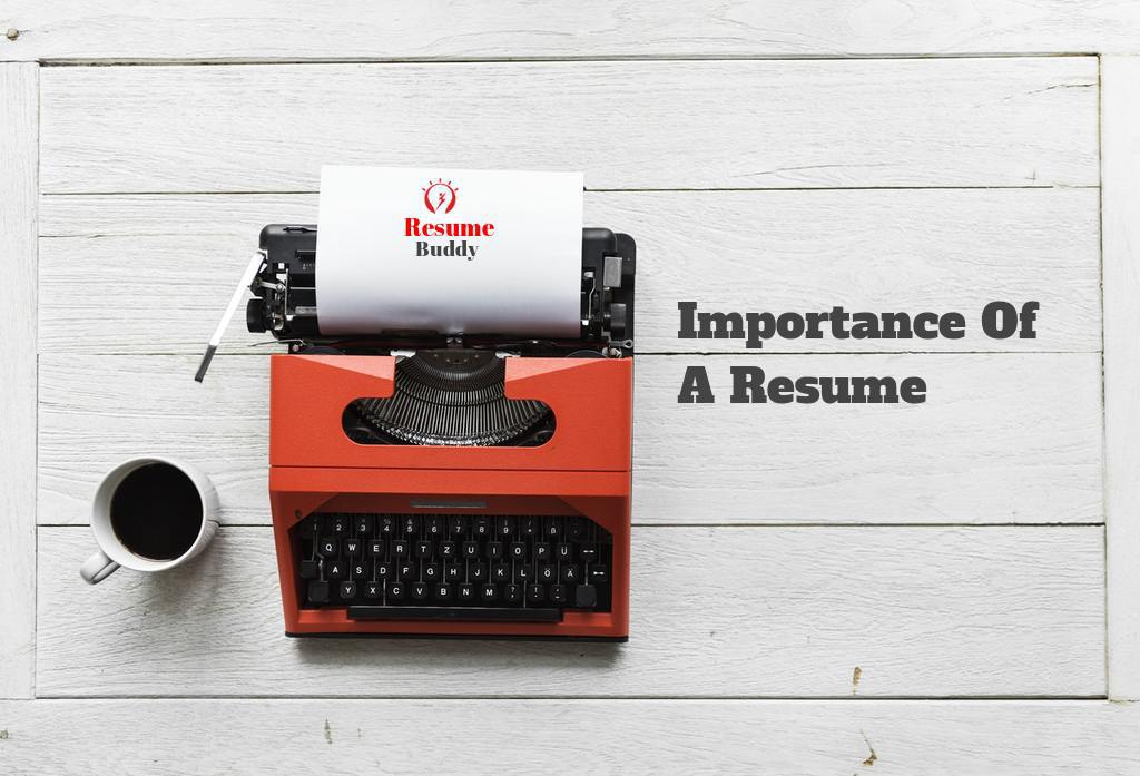7 facts which define the importance of a resume